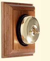 Period Light Switches: The flagship of the Olivers Lighting collection is the beautiful Standen  range of light switches. With a dignified brass, copper or chrome dome and  dolly ...,Lighting